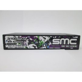 SMC SMC3188-2S1P True Spec Extreme 7.4V 3100mAh 88 Amps/150C Shorty 5mm Inboard