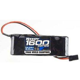 Team Associated 1600MAH NIMH 6.0V Flat RX Pack 5-Cell