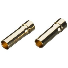 TKP Gold Plated Bullet Connector Female 5mm (2)