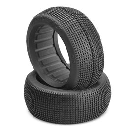J Concepts JCO3121-0202 Reflex-O2 1/8 Buggy Tires Medium Compound (2)