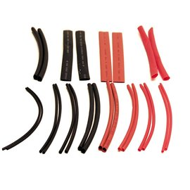 Racers Edge RCE1303 24 pc. Heat Shrink Tubing Assortment
