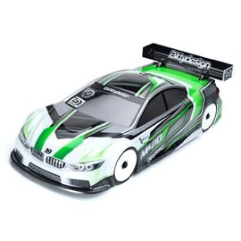 Bittydesign BDYTC-190M410-XRY Bittydesign M410 Pre-Cut 1/10 Touring Car Body (190mm) (Light Weight) (XRAY)
