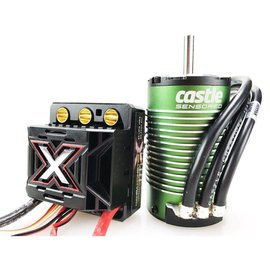 Castle Creations CSE010-0145-04 MONSTER X 25.2V ESC, 8A Peak BEC w/ 1512-2650KV Sens Motor