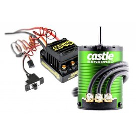 Castle Creations CSE010-0164-03 Sidewinder 4 Waterproof ESC 6900kv Sensored Motor