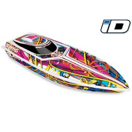 Traxxas TRA38104-1 Blast High Performance Electric Race Boat RTR W/ 2.4GHz Radio, Battery with iD, and Charger