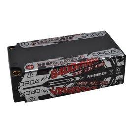 ORCA OBH454SH ORCA HV Gen4 Graphene 5400mah 7.6v 120c Shorty Lipo Pack
