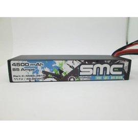 SMC SMC4585-3S1PT True Spec Premium 11.1V 4500mAh 85Amps/90C Lipo w/Traxxas Plug