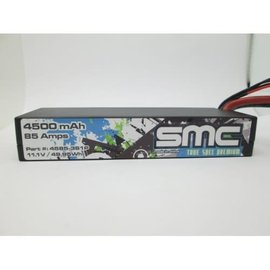 SMC SMC4585-3S1PXT60 True Spec Premium 11.1V 4500mAh 85Amps/90C Lipo w/XT60 Plug