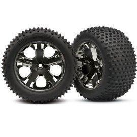 Traxxas 3770A Alias tires, All Star black chrome wheelsC RR ( 2)
