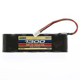 Duratrax ONXP5136  7.2V 1300MAH NIMH Battery 2/3A Flat Mini 5102 Plug