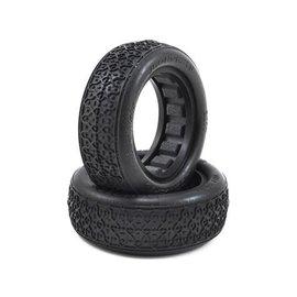 """JACO JCO3077-01 Dirt Webs 2.2"""" 2WD Front Tire Blue (2)"""