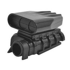 RPM R/C Products RPM73412 Black Mock Intake & Blower Set