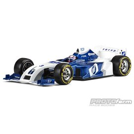 Protoform PRM1561-22  F26 Clear Body, for 1/10 Formula 1