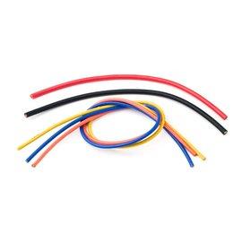 "TQ Wire TQW1606 ESC Wiring Kit- 1' ea. 16 ga. Blue, Yellow, Orange 6"" ea. 13 ga. Red, Black"