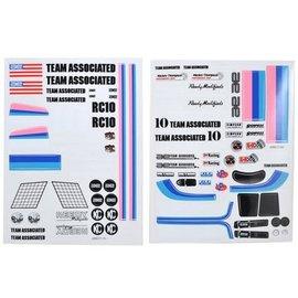 Team Associated ASC6866  Classic Decal Sheet RC10