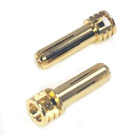 Trinity REV2204 Certified Adjustable Pure Cooper 5mm Bullets (2) Male