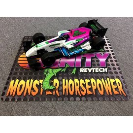 """Trinity TEP9110 Monster Horsepower Small Pit Mat 20L"""" x 16W"""" Lightweight Full Color Print"""