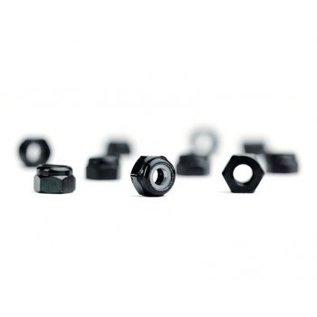 Avid RC AVN-M3-AL-BLK  M3 Black Aluminum Locknut (10)