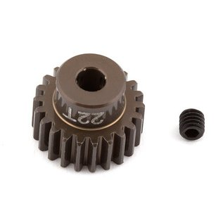 Team Associated ASC1340 FT Aluminum Pinion Gear, 22T 48P, 1/8 shaft