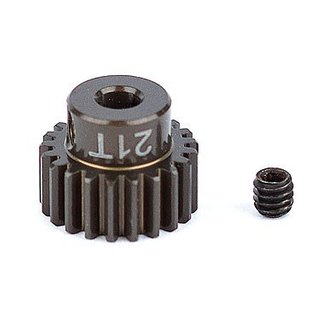 Team Associated ASC1339 FT Aluminum Pinion Gear, 21T 48P, 1/8 shaft