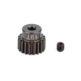 Team Associated ASC1337 FT Aluminum Pinion Gear, 19T 48P, 1/8 shaft
