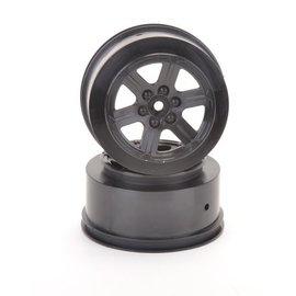 Schumacher SCHU4733 Short Course Wheel - Black +3 offset pr