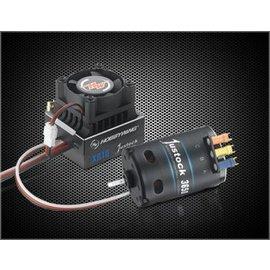 Hobbywing HWA38020401 XeRun Zero Spec ESC, w/ Motor JS4 13.5T - Combo