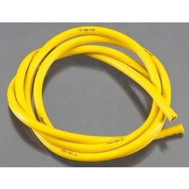 TQ Wire TQW1136  10 Gauge Super Flexible Wire - Yellow 3'