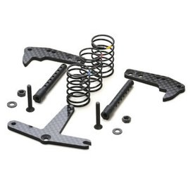 Exotek Racing EXO1824 F6 Rear Traction Plate Set