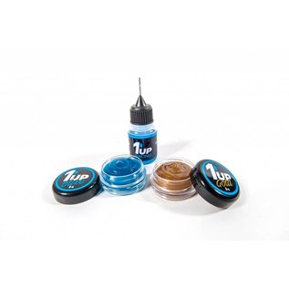 1UP Racing 1UP120501 Fluid Pro Pack Gold, Clear, Blue