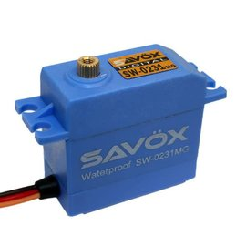 Savox SAVSW0231MG  Waterproof Standard Digital Servo .15/208 @ 6.0V