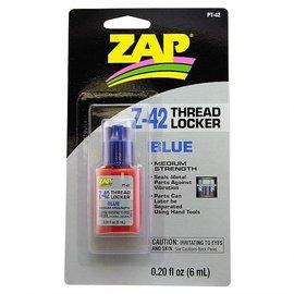ZAP. PAAPT-42  Zap Z-42 Blue Thread Locker 0.2oz Bottle
