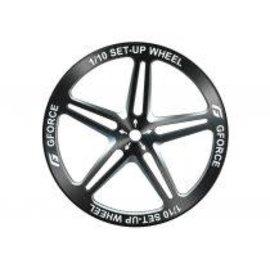 G-Force G0092 G-Force 1/10 Set-up Wheels