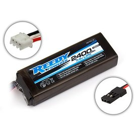Team Associated ASC27313 Reedy LiPo Pro TX/RX 2400mAh 7.4V Flat