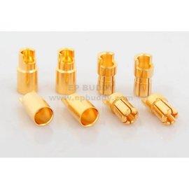 Michaels RC Hobbies Products EPB-9133 6mm Bullet Connectors (4pr)