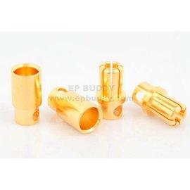 Michaels RC Hobbies Products EPB-9134 8mm Bullet Connecotrs (2pr)