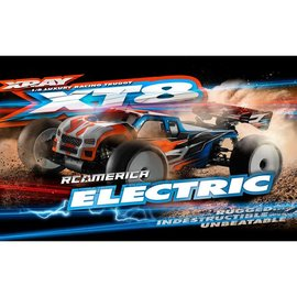 Xray XRA350203E XT8E 2017 Spec Luxury 1/8 Electric Off-Road Truggy Kit