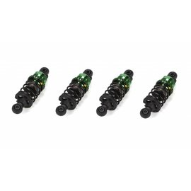 Vaterra VTR333001 Adjustable Coil-Over Shock Set (4) Aluminum: V100