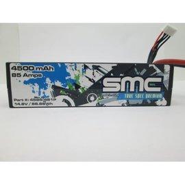 SMC SMC4585-4S1PXT90  True Spec Premium 14.8V 4500mAh 85 Amps/90C Lipo w/XT90 Plug