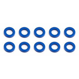 Team Associated ASC31382  Ballstud Washers 5.5 x 1.0mm Blue Aluminum (10)