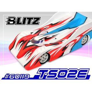 BLITZ BLZ60119-10  BLITZ TS02E Clear Body (200mm) (1.0mm) Standard