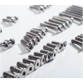 Schelle Racing SCH1124 B6.1 Titanium Upper Screw Set