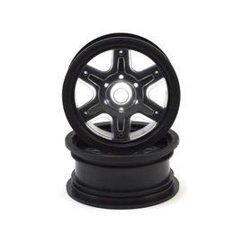 "J Concepts JCO3379B Dragon Black 2.6"" Mega Truck Wheels 12mm (2pc)"