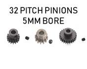 32P Pitch Pinion / 5mm Bore