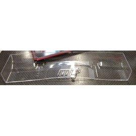 Mon-Tech Racing MB-018-002H Mon-Tech 190mm Touring Car Racer Wing, Hard, 1mm