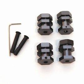 STRC SPTST3654-17GM  Machined Aluminum 17mm Hex Conversion Kit Traxxas 2wd