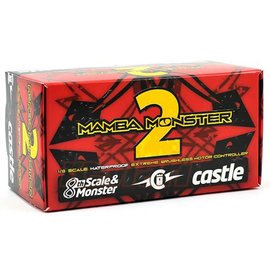 Castle Creations CSE010-0108-00  1/8 Mamba Monster 2 Extreme ESC, Waterproof