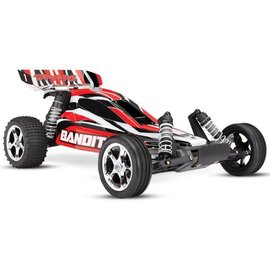 Traxxas TRA24054-4 RED  Bandit: 1/10 Scale Off-Road Buggy with TQ 2.4GHz radio system