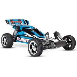 Traxxas TRA24054-4 Blue  Bandit: 1/10 Scale Off-Road Buggy with TQ 2.4GHz radio system