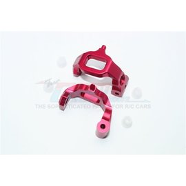 GPM Racing Products GT019-R Red Aluminum C Hubs Traxxas 4TEC 2.0